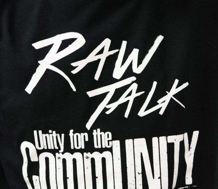 Raw Talk, Unity for the Community event at the Overtown Youth Center and sponsored by the United Way in Miami on Nov. 12th, 2016. (Photo by MagicalPhotos / Mitchell Zachs)